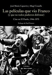 Cubierta de la obra Las películas que vio Franco