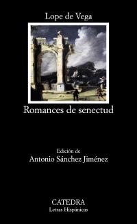 Cubierta de la obra Romances de senectud