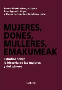 Cubierta de la obra Mujeres, dones, mulleres, emakumeak