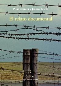 Cubierta de la obra El relato documental