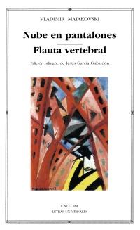 Cubierta de la obra Nube en pantalones; Flauta vertebral
