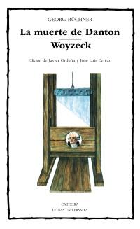 Cubierta de la obra La muerte de Danton; Woyzeck