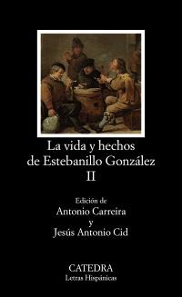 Cubierta de la obra Vida y hechos de Estebanillo González, II