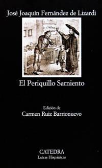 Cubierta de la obra El Periquillo Sarniento