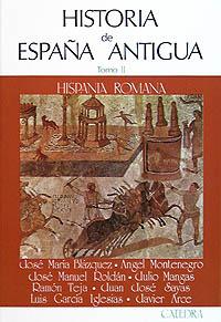 Cubierta de la obra Historia de España Antigua, II