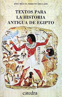 Cubierta de la obra Textos para la historia antigua de Egipto