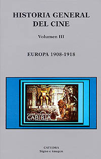 Cubierta de la obra Historia general del cine. Volumen III