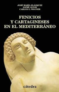 Cubierta de la obra Fenicios y cartagineses en el Mediterráneo