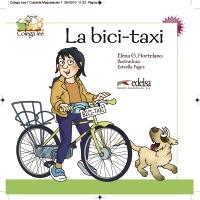 Colega lee 2 - 1/2  la bici-taxi