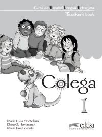 Colega 1 - teacher's book