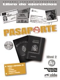 Pasaporte 2 (A2) - libro de ejercicios + CD audio