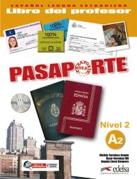 Pasaporte 2 (A2) - libro del profesor + CD audio