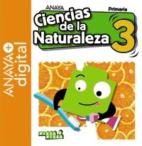 Portada: Ciencias de la Naturaleza 3. Primaria. Anaya + Digital. Autor: Gómez Gil, Ricardo; Valbuena Pradillo, Rafael
