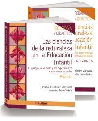 PACK- Las ciencias de la naturaleza en la Educación Infantil