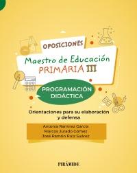 Oposiciones. Maestro de Educaci�n Primaria III