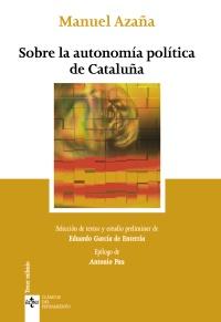 Sobre la autonomía política de Cataluña