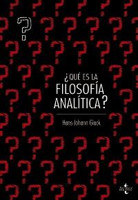 ¿Qué es filosofía analítica?