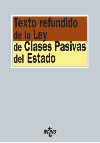 Texto redundido de la Ley de Clases Pasivas del Estado