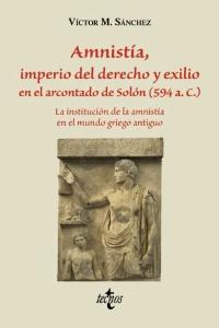 Amnistía, Imperio del derecho y exilio en el Arcontado de Solón (594 a.C.)