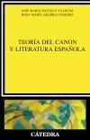 Teoría del canon y literatura [...]