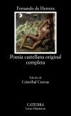 Poesía castellana original completa