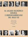El legado filosófico español e hispanoamericano [...]
