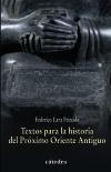 Textos para la historia del Próximo [...]