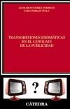 Transgresiones idiomáticas en el lenguaje [...]