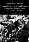 Las películas que vio Franco