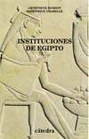 Instituciones de Egipto