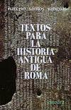 Textos para la historia antigua de [...]