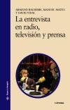 La entrevista en radio, televisión y [...]